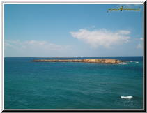 Gallipoli Lecce Italy - isola sant andrea scoglio campo 1.jpg