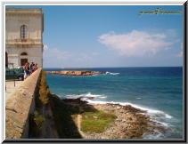 Gallipoli Lecce Italy - isola sant andrea scoglio campo 2.jpg