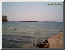 Gallipoli Lecce Italy - spiaggia chiesa purità isola san andrea.jpg